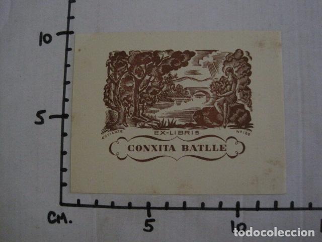 Arte: EX LIBRIS - CONXITA BATLLE - VER FOTOS -(X-1910) - Foto 3 - 89097304