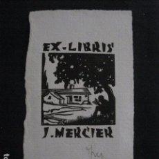 Arte: EX LIBRIS - MERCIER - (X-1921). Lote 89579544
