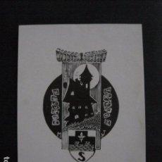 Arte: EX LIBRIS - MERCIER - (X-1924). Lote 89579876