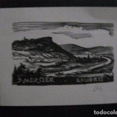 Arte: EX LIBRIS- J. MERCIER - (X-1937). Lote 89587348