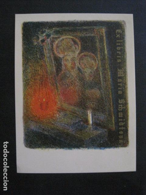 EX LIBRIS - MARIA SCHMIDTOVA -VER FOTOS -(X-1996) (Arte - Ex Libris)