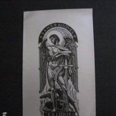 Arte: EX LIBRIS - RAMON A. MIQUEL SOLA -VER FOTOS -(X-1997). Lote 90542695