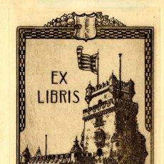 Arte: CASALS Y VERNIS, RAMÓN ( 1860-1920). EX LIBRIS PARA JOSEPH MONSALVATJE. Lote 91067440