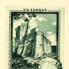 Arte: ROSSELL, RAIMUNDO (1924-)EX LIBRIS PARA ANGELITA SOLE. Lote 91249290