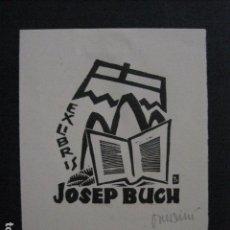 Arte: EX LIBRIS - JOSEP BUCH - VER FOTOS -(X-2035). Lote 91295760