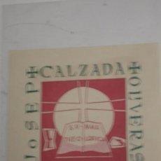 Arte: JOSEP CALZADA OLIVERAS - PORTAL DEL COL·LECCIONISTA *****. Lote 91802705