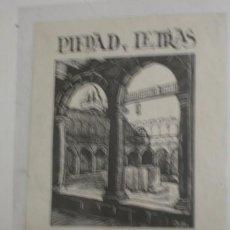 Arte: PIEDAD Y LETRAS ESCUELAS PIAS DE IGUALADA - PORTAL DEL COL·LECCIONISTA *****. Lote 91802905