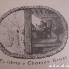 Arte: THOMAS BRUST - PORTAL DEL COL·LECCIONISTA *****. Lote 91803120