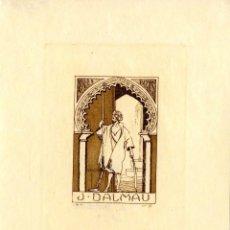 Arte: GARCÍA FALGÁS, L. ( 1881-1954)- EX LIBRIS PARA J. DALMAU. Lote 94268435