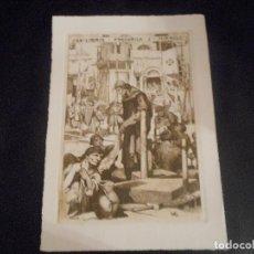 Arte: EX LIBRIS DE TRIADO PARA J. MIRACLE TARRAGONA EXLIBRIS. Lote 94648827