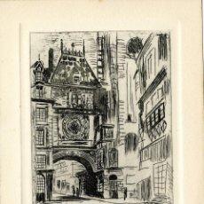 Arte: JOCELYN MERCIER (1926-2006). EX LIBRIS PARA A. HENRY. Lote 96038207