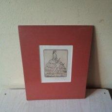 Arte: EX-LIBRIS GRABADO ORIGINAL DE MARTIN ERICH PHILIPP - MARGIT UND LEO ADLER - 50 COPIAS FIRMADAS 1921. Lote 108272195
