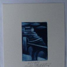 Arte: A.63 EX-LIBRIS EXLIBRIS BOOKPLATE MAPIE MICHAELA SECHTLOVÁ. TOLEDO PUENTE SAN MARTÍN. Lote 109064491