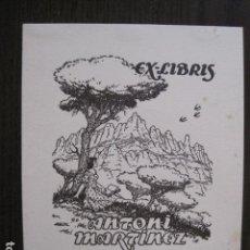 Arte: EX LIBRIS - ANTONI MARTINEZ - MALLOL - VER FOTOS - (X-2096). Lote 111811675