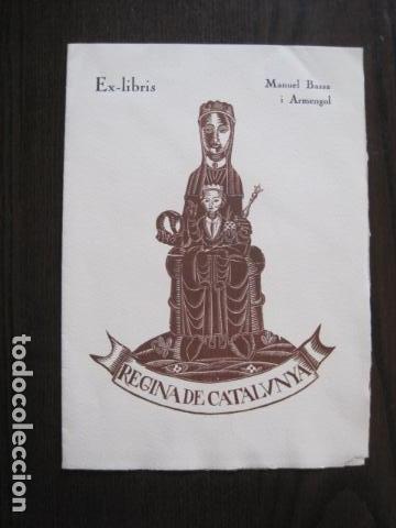 EX LIBRIS - GRABADO - MIQUEL BASSA I ARMENGOL - VER FOTOS - (X-2179) (Arte - Ex Libris)
