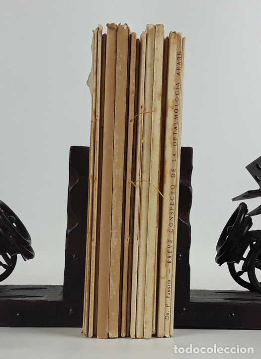 Arte: 17 EXLIBRIS (5 REPETIDOS) LABORATORIOS DEL NORTE DE ESPAÑA. BARCELONA. 1931-57. - Foto 2 - 114275639