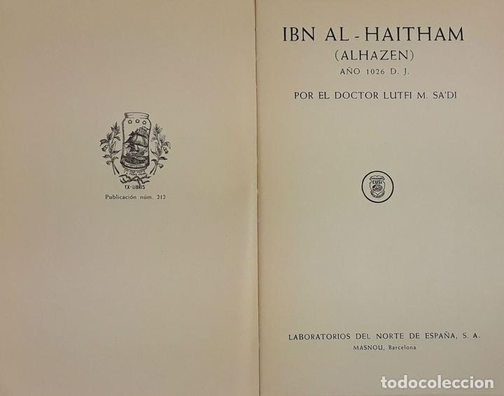 Arte: 17 EXLIBRIS (5 REPETIDOS) LABORATORIOS DEL NORTE DE ESPAÑA. BARCELONA. 1931-57. - Foto 14 - 114275639