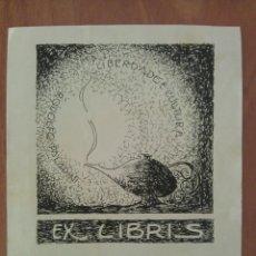 Arte: EX LIBRIS - RIO DE JANEIRO / BRASIL. Lote 116881927