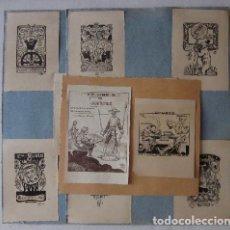Arte: COLECCION DE 12 EXLIBRIS ORIGINALES. Lote 119446915