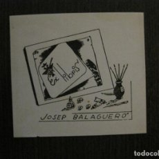 Arte: EX LIBRIS - JOSEP BALAGUERO - VER FOTOS - (X-2223). Lote 121270003