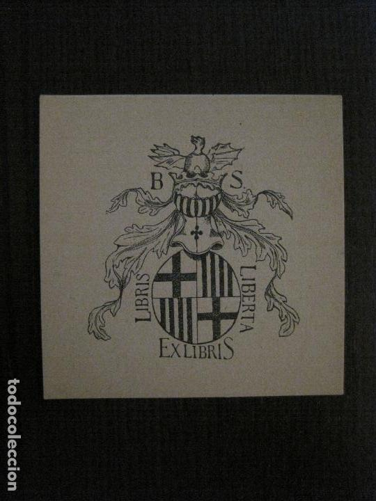 EX LIBRIS - LIBRIS LIBERTA - VER FOTOS - (X-2229) (Arte - Ex Libris)