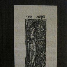 Arte: EX LIBRIS - J.RODRIGUEZ CHAVES - VER FOTOS - (X-2247). Lote 121276139