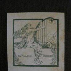 Arte: EX LIBRIS - A.DOGLIA - P.PERELLI - VER FOTOS - (X-2256). Lote 121277619