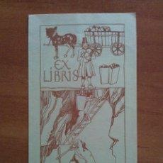 Arte: EX LIBRIS CARL ALTHOFF. Lote 121346655
