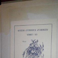 Arte: EX LIBRIS LA TORRE DE BABEL MORRIS. Lote 121354127
