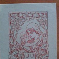 Arte: EX LIBRIS WALTER U INA WITTING - 1901. Lote 121566843