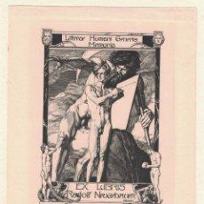 Arte: FRANZ STASSEN EX-LIBRIS RUDOLF NPUEUBAUPR. Lote 126978215