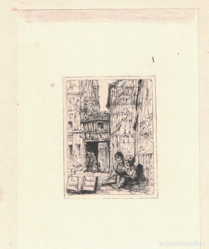 EX-LIBRIS ANDRÉ BARRIER (Arte - Ex Libris)