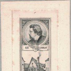 Arte: KÜHN, LUDWIG; RADIERER 1881/1928: EX-LIBRIS MARCUS SCHUESSLER. Lote 126980643