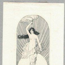 Arte: FISCHER-OELS, HELMA – EX LIBRIS HERMANN JUNGE. Lote 126981267