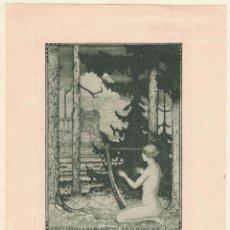 Arte: STELLA, GUIDO BALSAMO: EX-LIBRIS WALTER FAHRENHORST. Lote 126982503