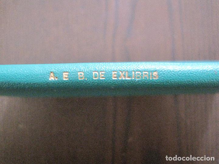 Arte: EX LIBRIS -IX CONGRESO EUROPEO EXLIBRIS - AÑO 1962 - PAPEL GUARRO -VER FOTOS-(X-2267) - Foto 4 - 127147687