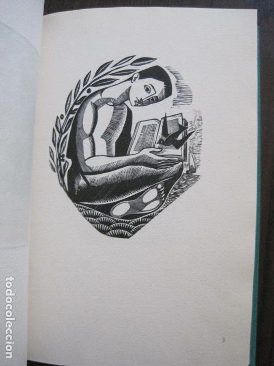 Arte: EX LIBRIS -IX CONGRESO EUROPEO EXLIBRIS - AÑO 1962 - PAPEL GUARRO -VER FOTOS-(X-2267) - Foto 10 - 127147687