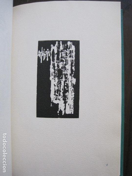 Arte: EX LIBRIS -IX CONGRESO EUROPEO EXLIBRIS - AÑO 1962 - PAPEL GUARRO -VER FOTOS-(X-2267) - Foto 11 - 127147687