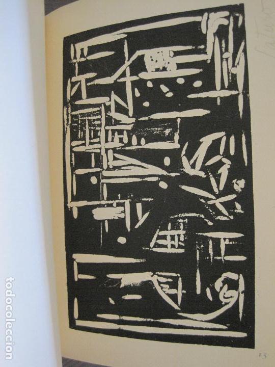 Arte: EX LIBRIS -IX CONGRESO EUROPEO EXLIBRIS - AÑO 1962 - PAPEL GUARRO -VER FOTOS-(X-2267) - Foto 22 - 127147687
