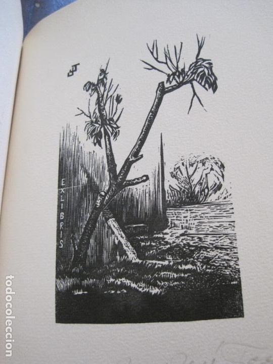 Arte: EX LIBRIS -IX CONGRESO EUROPEO EXLIBRIS - AÑO 1962 - PAPEL GUARRO -VER FOTOS-(X-2267) - Foto 23 - 127147687
