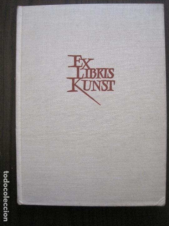 EX LIBRIS - KUNST - DR. HANS LAUT - BERLIN 1955 -VER FOTOS-(X-2268) (Arte - Ex Libris)