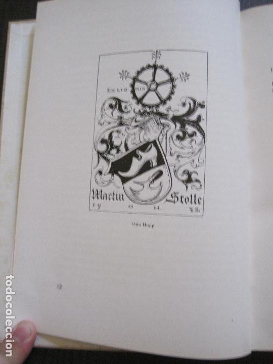 Arte: EX LIBRIS - KUNST - DR. HANS LAUT - BERLIN 1955 -VER FOTOS-(X-2268) - Foto 6 - 127147983
