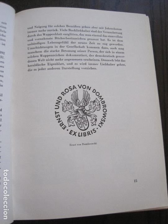 Arte: EX LIBRIS - KUNST - DR. HANS LAUT - BERLIN 1955 -VER FOTOS-(X-2268) - Foto 7 - 127147983