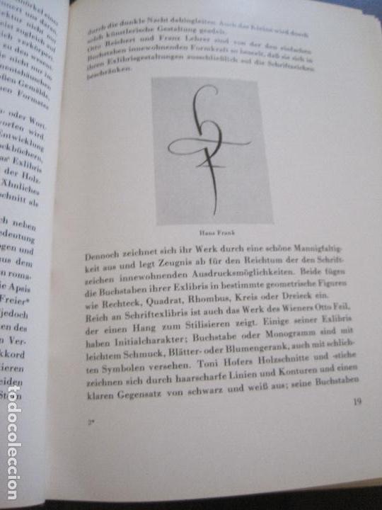 Arte: EX LIBRIS - KUNST - DR. HANS LAUT - BERLIN 1955 -VER FOTOS-(X-2268) - Foto 9 - 127147983