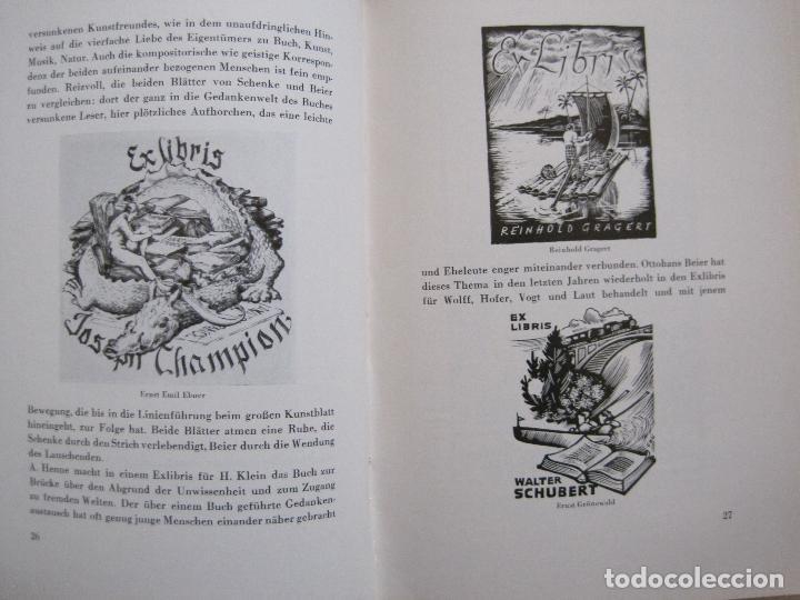 Arte: EX LIBRIS - KUNST - DR. HANS LAUT - BERLIN 1955 -VER FOTOS-(X-2268) - Foto 13 - 127147983