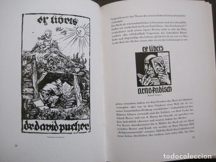 Arte: EX LIBRIS - KUNST - DR. HANS LAUT - BERLIN 1955 -VER FOTOS-(X-2268) - Foto 14 - 127147983