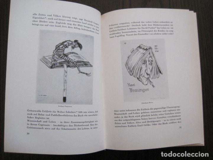 Arte: EX LIBRIS - KUNST - DR. HANS LAUT - BERLIN 1955 -VER FOTOS-(X-2268) - Foto 15 - 127147983