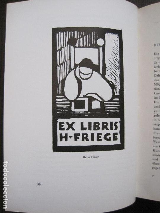 Arte: EX LIBRIS - KUNST - DR. HANS LAUT - BERLIN 1955 -VER FOTOS-(X-2268) - Foto 16 - 127147983