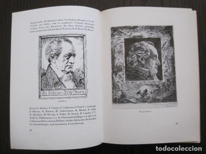Arte: EX LIBRIS - KUNST - DR. HANS LAUT - BERLIN 1955 -VER FOTOS-(X-2268) - Foto 17 - 127147983