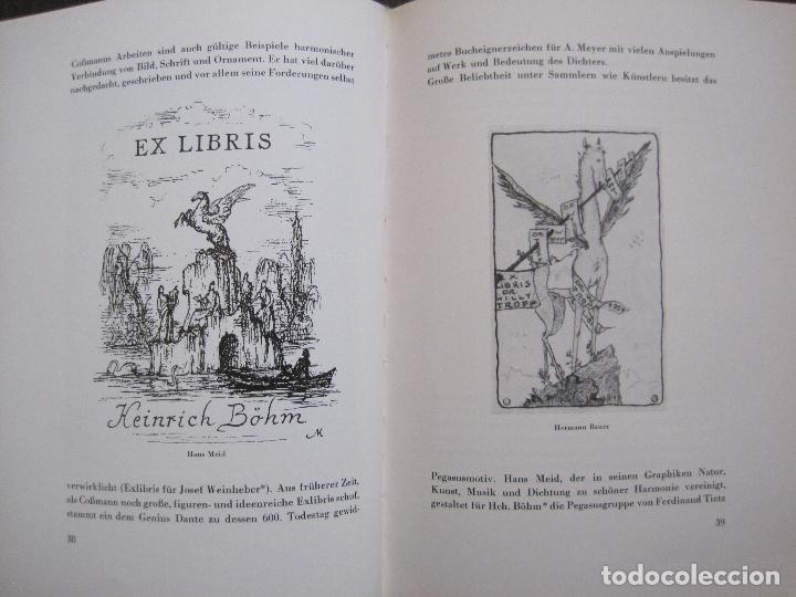 Arte: EX LIBRIS - KUNST - DR. HANS LAUT - BERLIN 1955 -VER FOTOS-(X-2268) - Foto 18 - 127147983